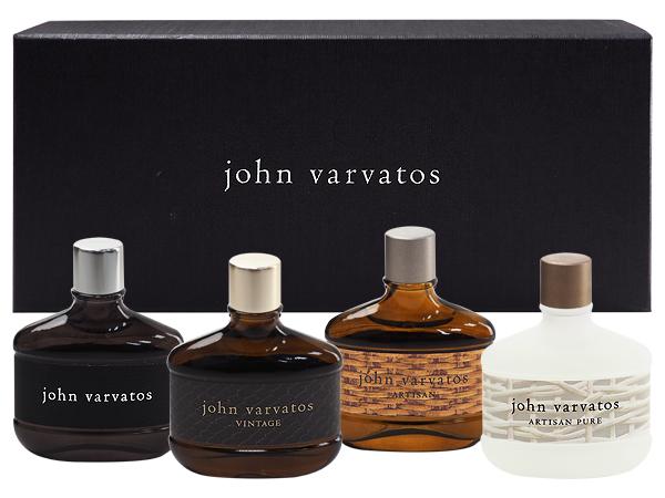John Varvatos~工匠系列小香禮盒(4x15ml)【D244374】男香