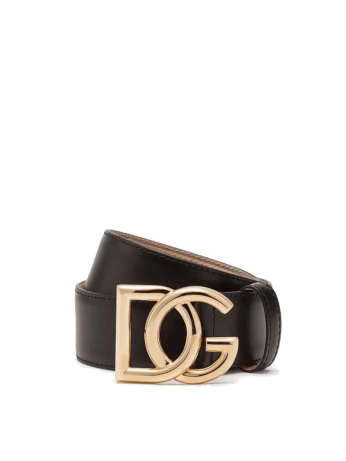 Dolce & Gabbana Millenials Logo Belt