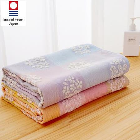 藤高今治 日本銷售第一100%純棉今治認證櫻花系列浴巾 1入組