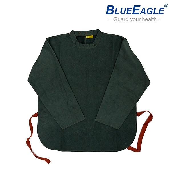 【醫碩科技】藍鷹牌 L-902 電銲皮上衣 豬面皮材質 焊接作業防護專用