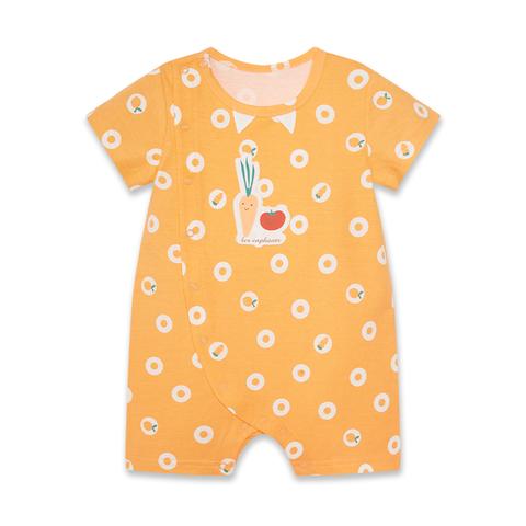 【EASY輕鬆系列】麗嬰房  小小美食家水果遊戲褲-橘色 (66cm~81cm)