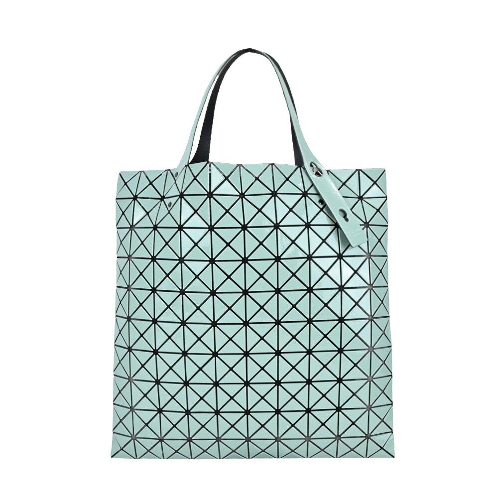 ISSEY MIYAKE 三宅一生 BAOBAO 搪瓷光澤10x10手提包-青瓷綠