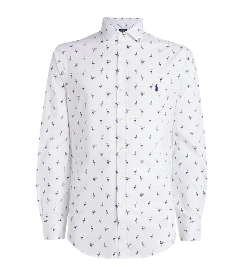 Polo Ralph Lauren Cotton Flamingo Print Shirt