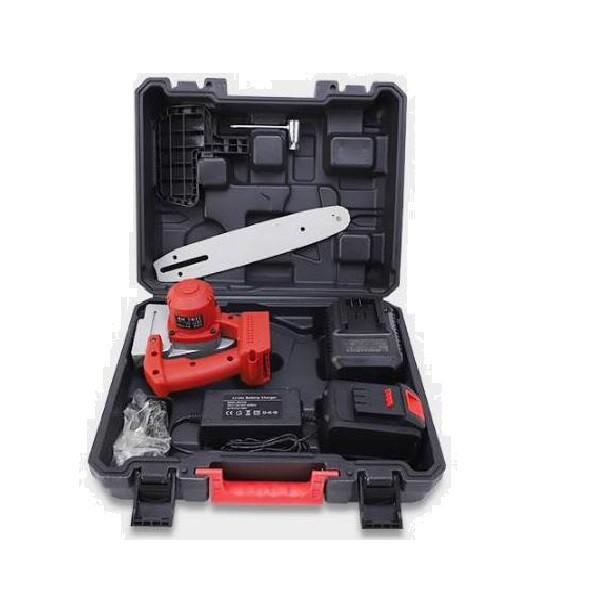 電鏈鋸 樹木修枝 電鋸 鋰電 手持 家用小型手持戶外伐木鋸子/免運