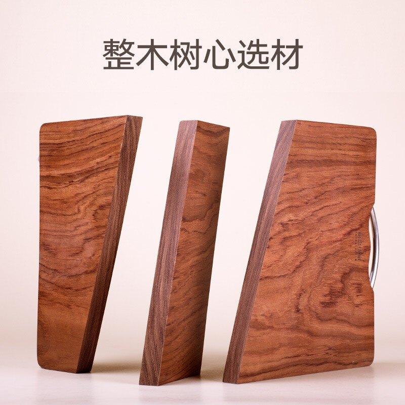 熱銷新品 收納 置物架 廚房實木菜板案板切菜板家用切水果防霉面板長方形刀板搟面板