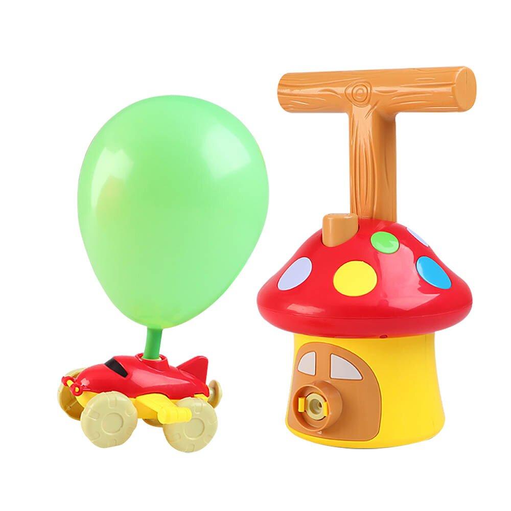 【福利品】【我是乾媽】蘑菇屋氣球動力車(商品完整/外盒瑕疵)