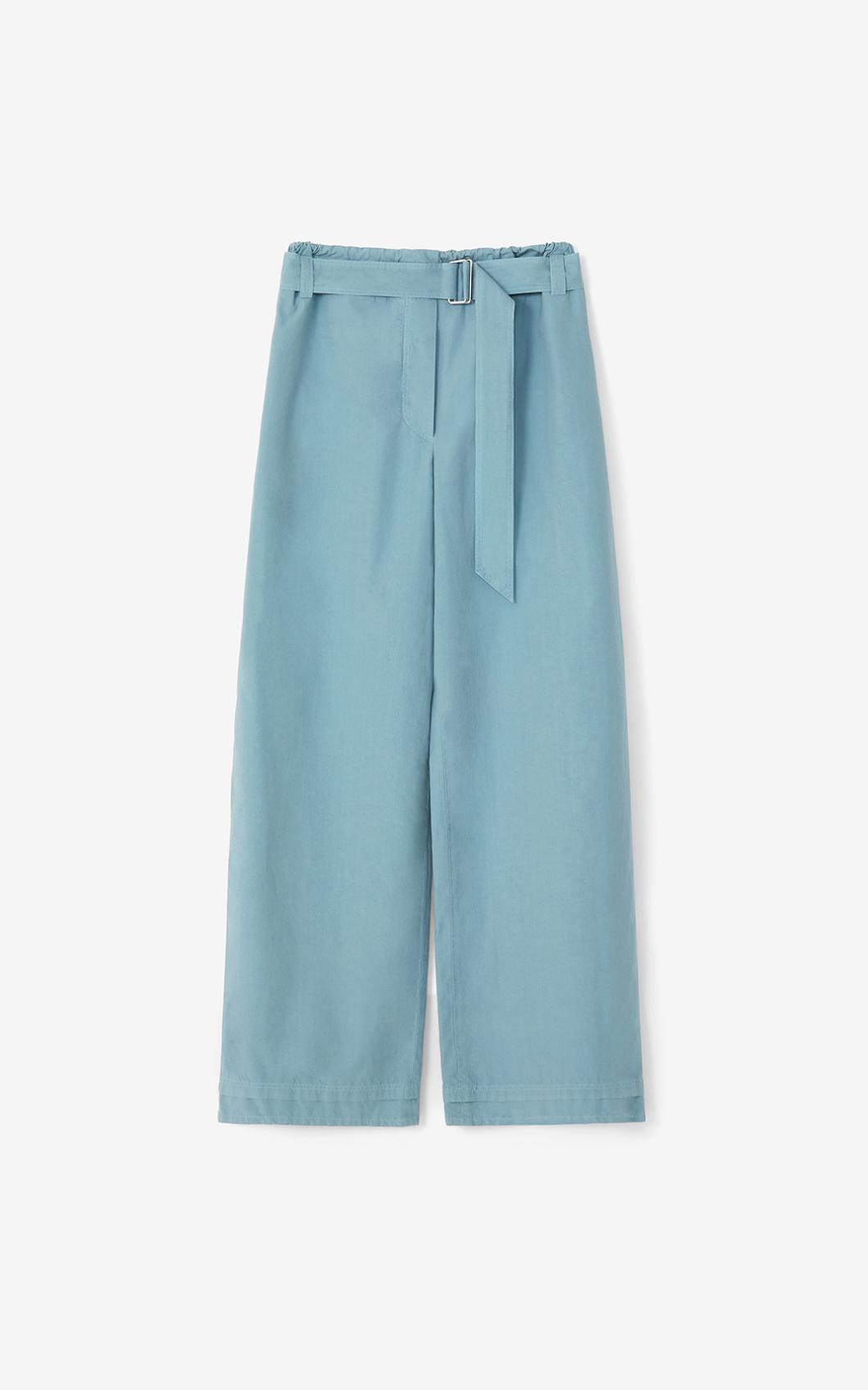KENZO Pantalon taille haute 'Capsule High Summer'