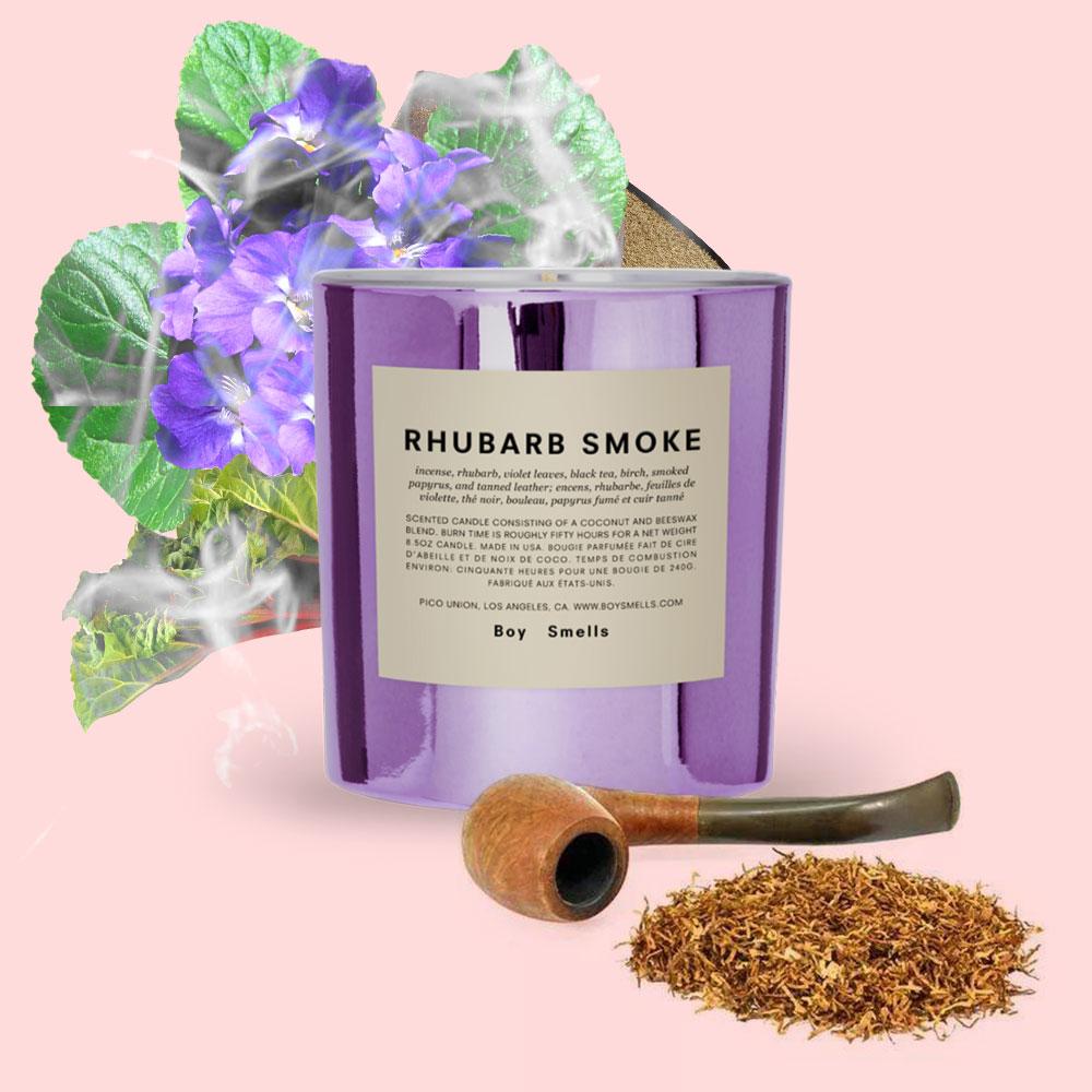 BOY SMELLS 美國香氛 自然之上系列 煙燻紫羅蘭蠟燭