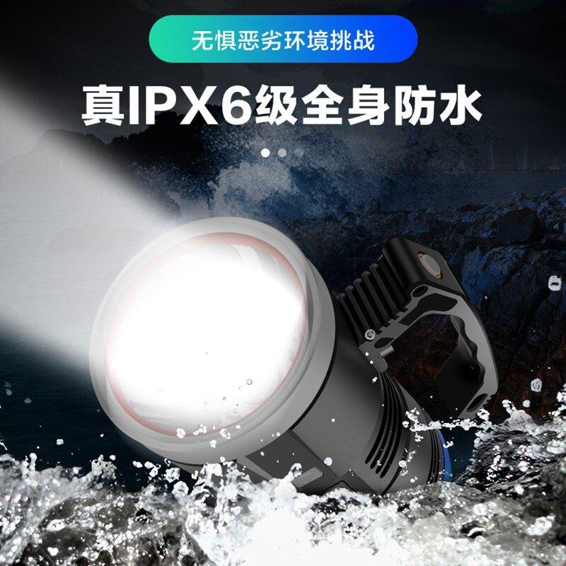 熱銷新品 LED 燈飾 夜釣燈釣魚藍光超亮大功率2000W氙氣筏釣激光炮夜光誘魚燈臺釣