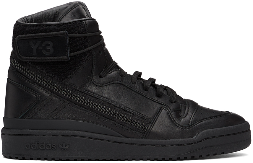 Y-3 黑色 Forum OG 高帮运动鞋