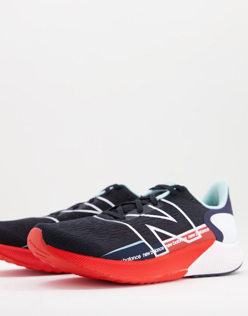 New Balance Running Fuel Cell Propel trainers in black