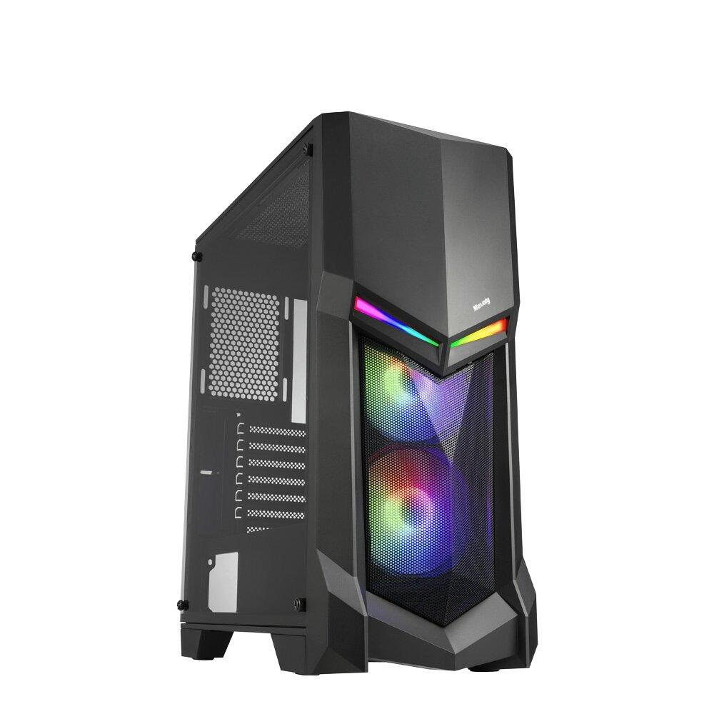 華碩B560平台【蝶之戰鼓】I9八核獨顯電玩機(I9-11900F/16G/2TB//GTX1050TI-4G)