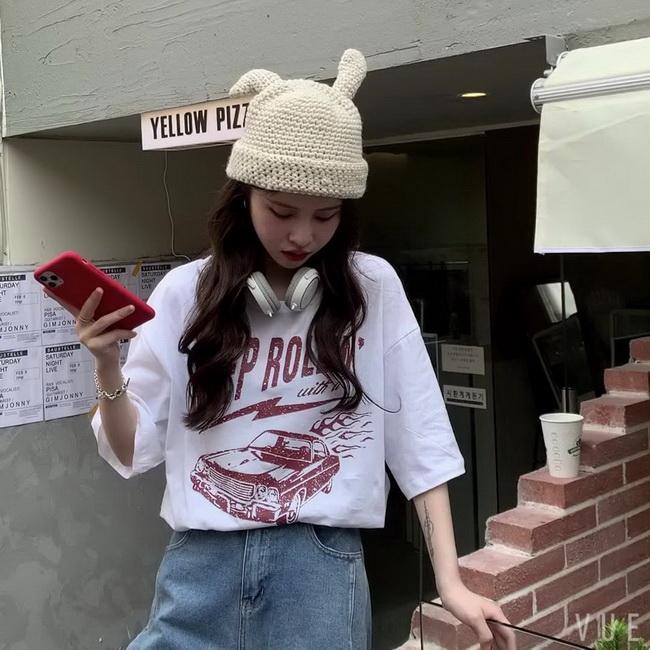 FOFU-彈性棉短袖t恤女中長版【08SG06462】