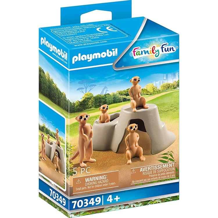 playmobil 動物園 狐獴