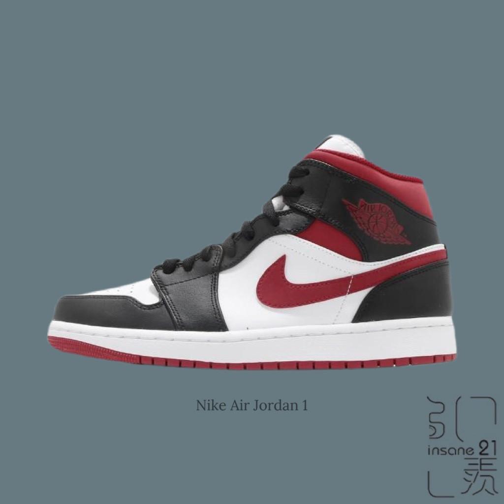NIKE AIR JORDAN 1 黑頭 紅勾 黑紅 白 芝加哥 籃球 喬丹 554724-122【Insane-21】
