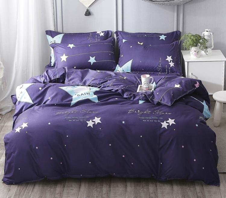 床單床罩純棉夏季四件套床上用品單雙人床單被套
