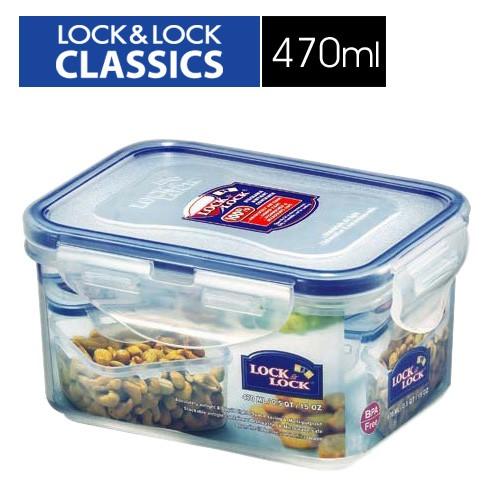 【LOCK & LOCK 樂扣樂扣】PP保鮮盒470ML/B6C24