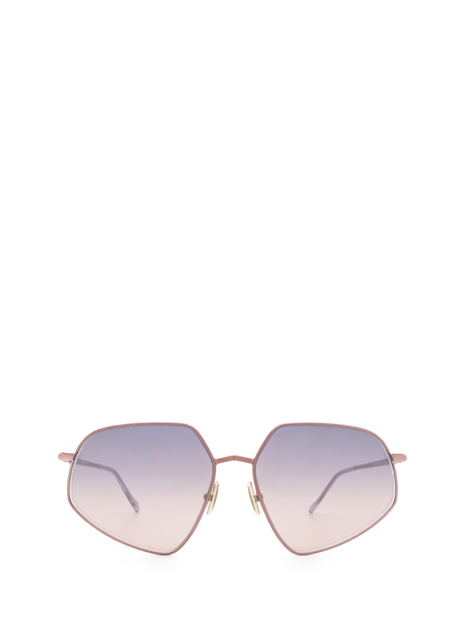 SportMax Sportmax Sm0018 Shiny Bronze Sunglasses