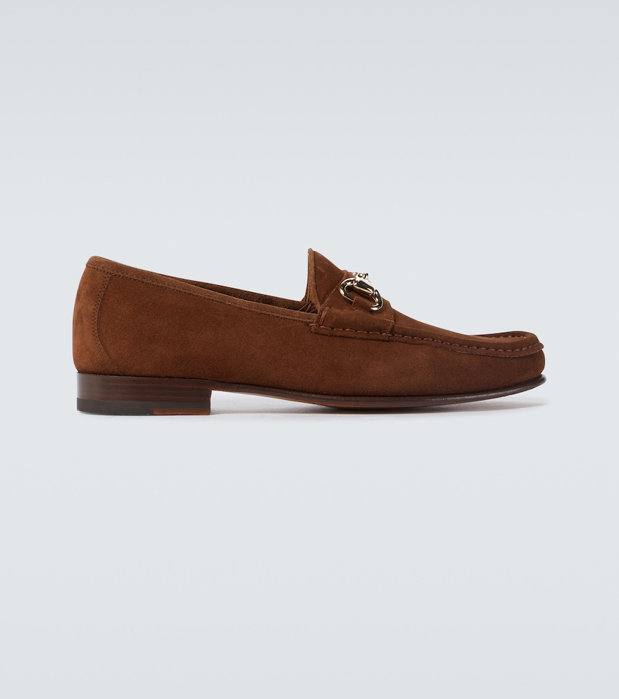 Moc Ischia suede loafers