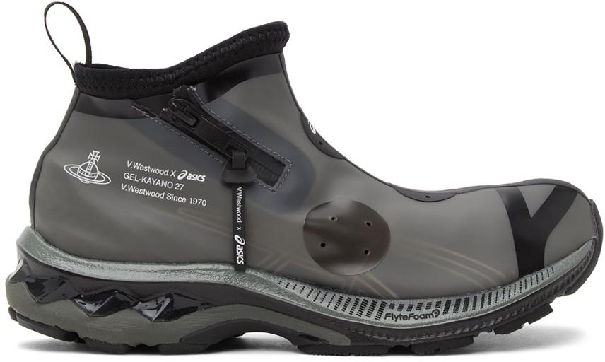 Vivienne Westwood 黑色 Asics 联名 GEL-KAYANO 27 LTX 高帮运动鞋
