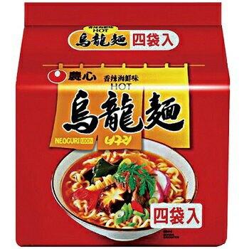 農心 香辣海鮮烏龍麵(120g x 4包) [大買家]