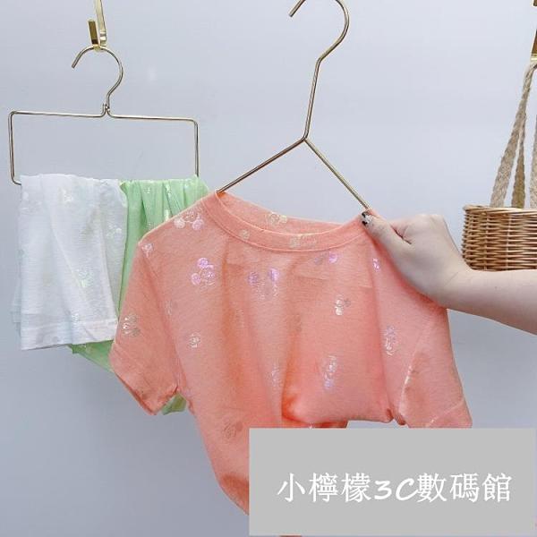 女童短袖T恤夏裝兒童純棉半袖小寶寶韓版夏季上衣【小檸檬3C數碼館】