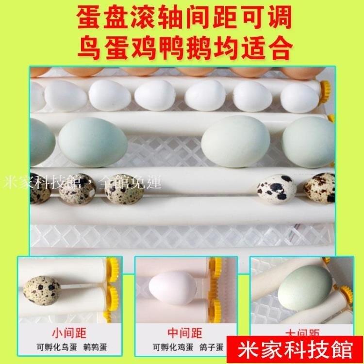 孵蛋機 孵化機孵化器小型家用型全自動智慧孵蛋機器迷你孵化箱小雞鳥鴨鵝 【簡約家】WJ