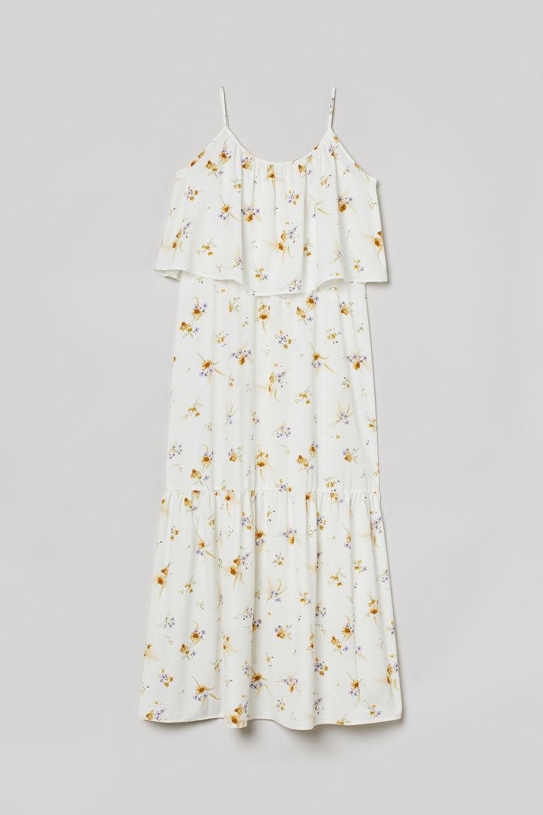 H & M - MAMA 哺乳長洋裝 - 白色