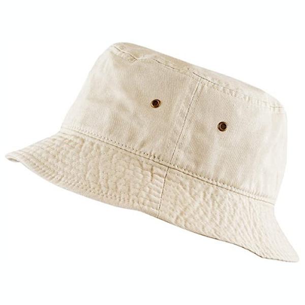 男女防曬遮陽漁夫帽(卡其色)