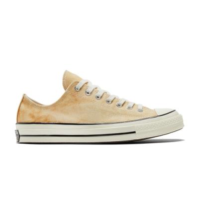 CONVERSE CHUCK 70 OX 低筒 男女 休閒鞋 渲染 水洗感 印花 黃色 170966C