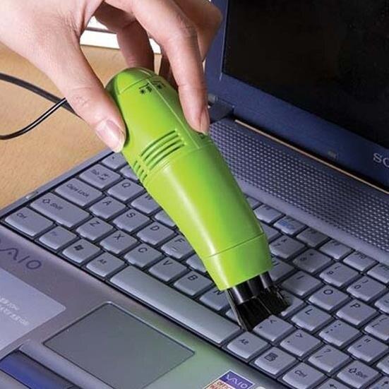 樂天優選 鍵盤吸塵器 學生宿舍usb電腦鍵盤小吸塵器 筆記本迷你強力雙頭吸灰器清潔工具