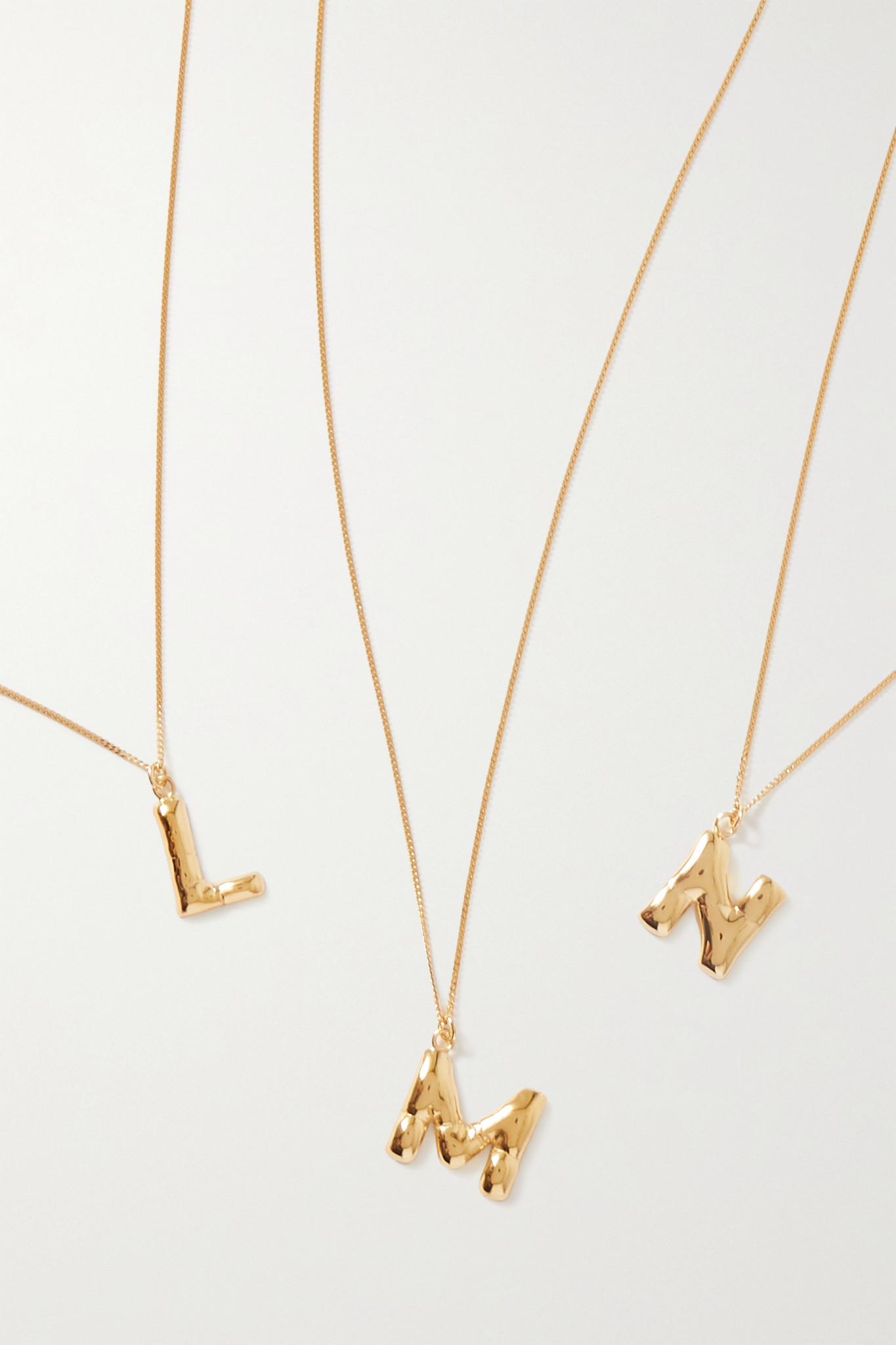 COMPLETEDWORKS - Gold Vermeil Necklace - J