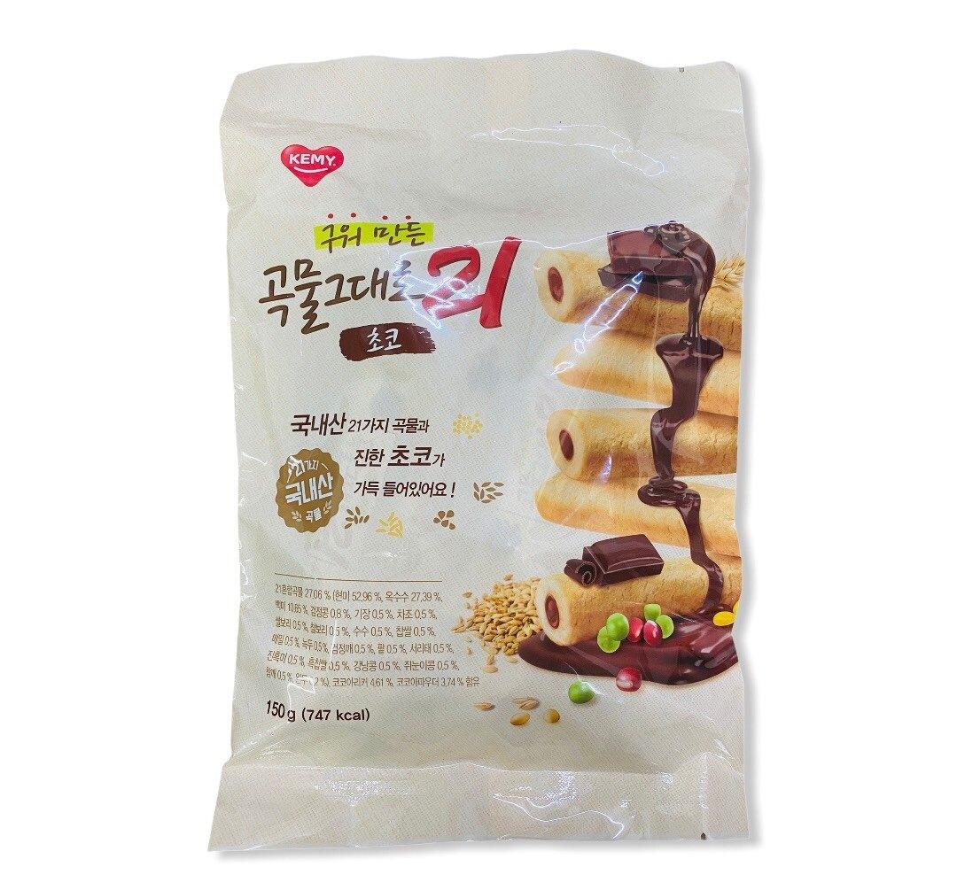 KEMY 韓國巧克力捲心米果 150g