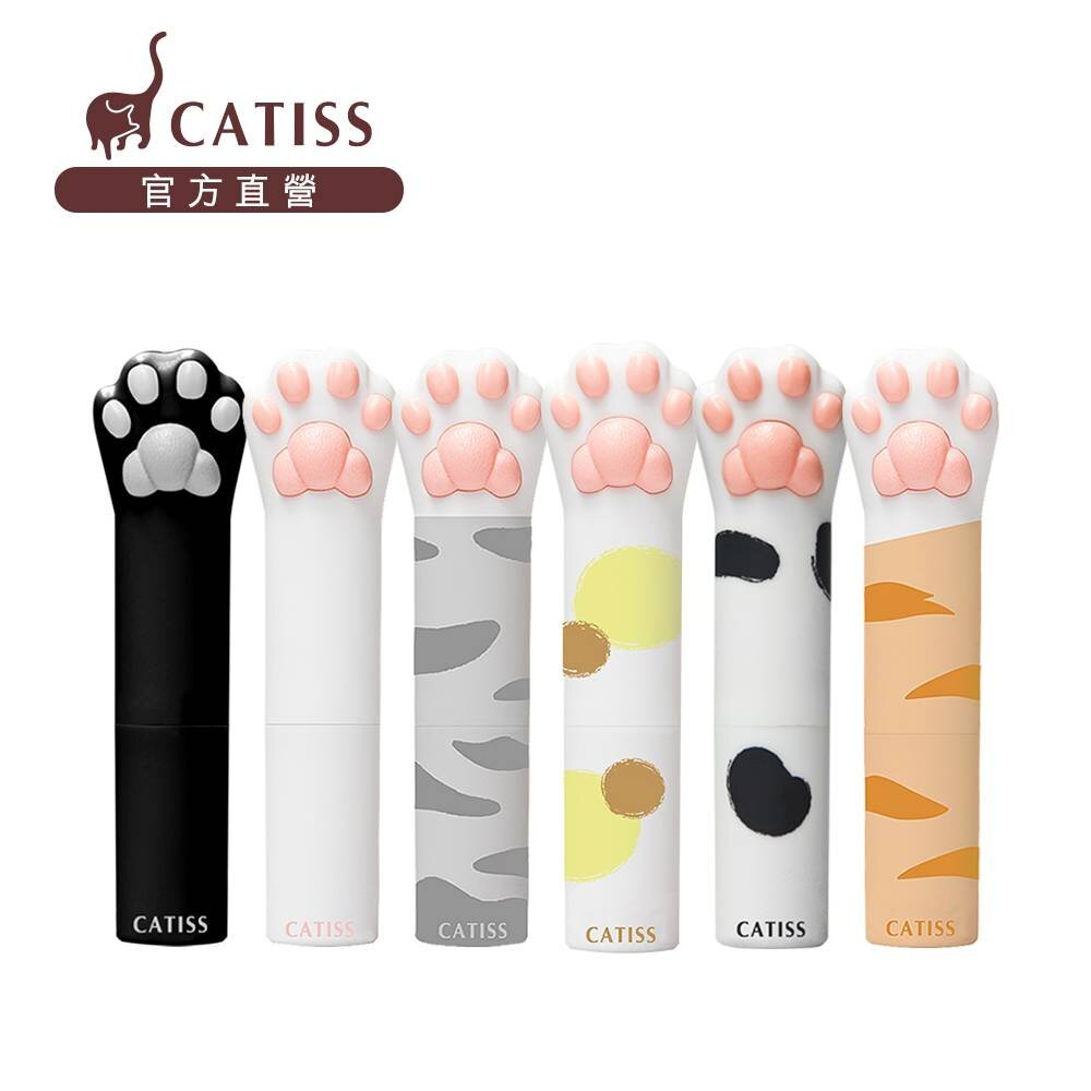 Catiss愷締思 貓掌護唇膏-6款一次擁有組(3g*6)