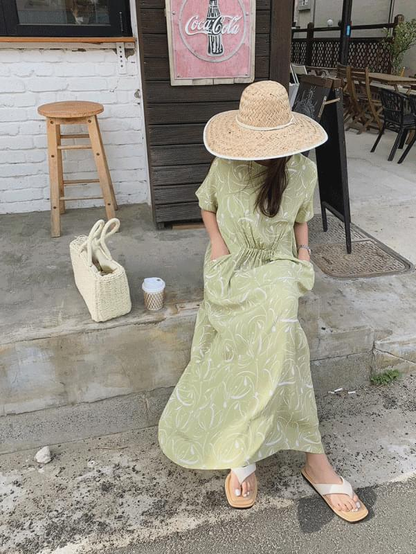 韓國空運 - Arte pocket Dress 長洋裝