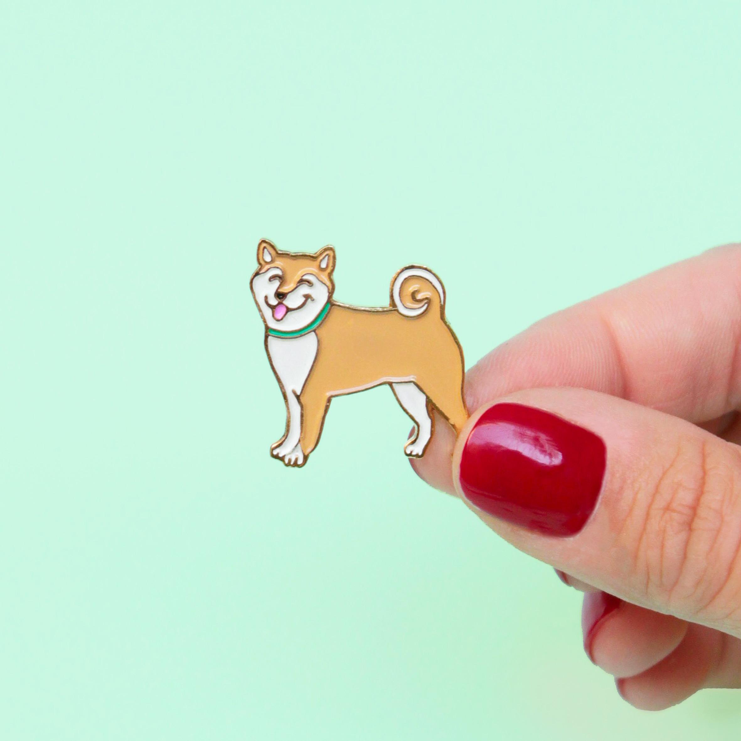 Shiba 柴犬徽章