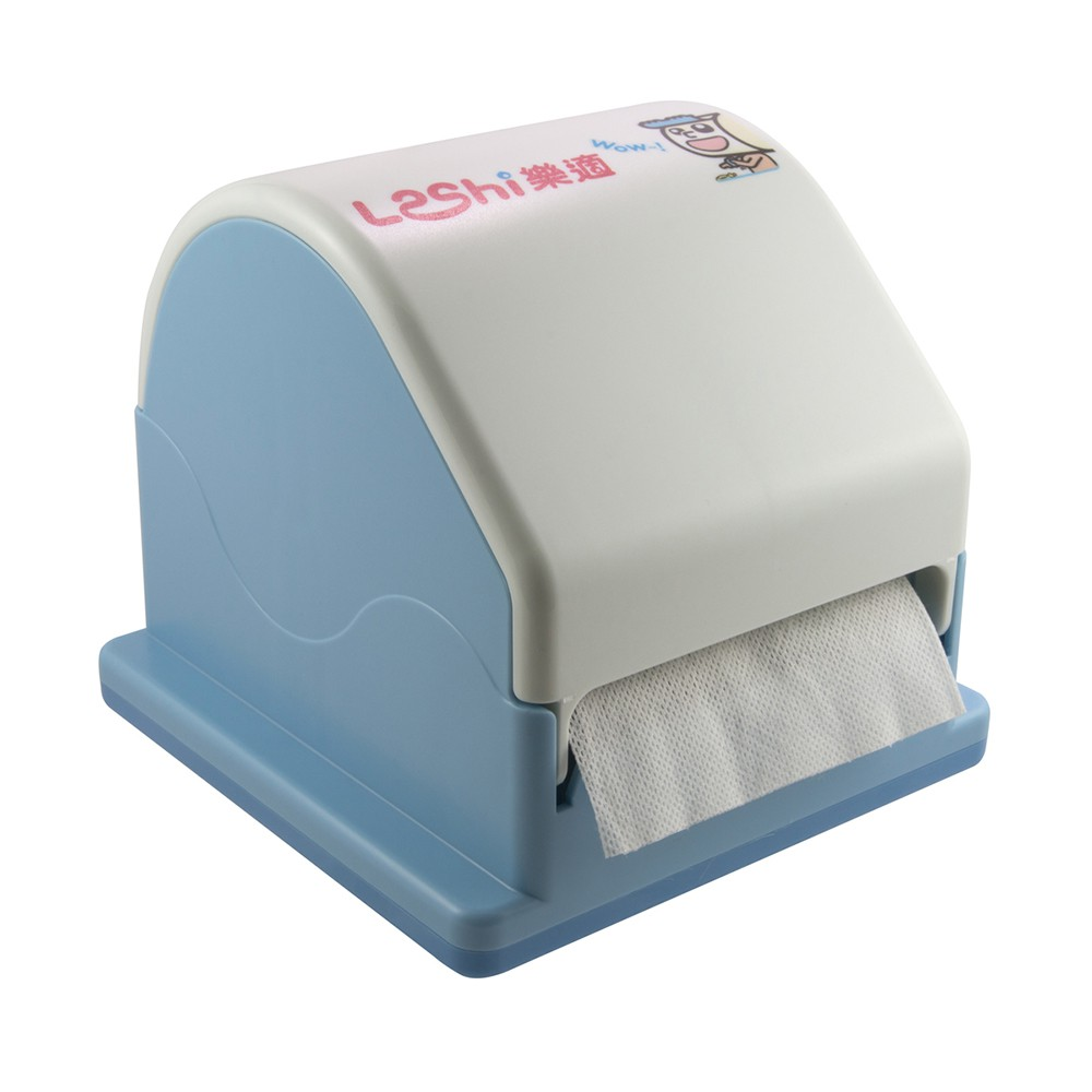 Leshi樂適 - 嬰兒乾濕兩用布巾 環保拉拉盒 (100抽)