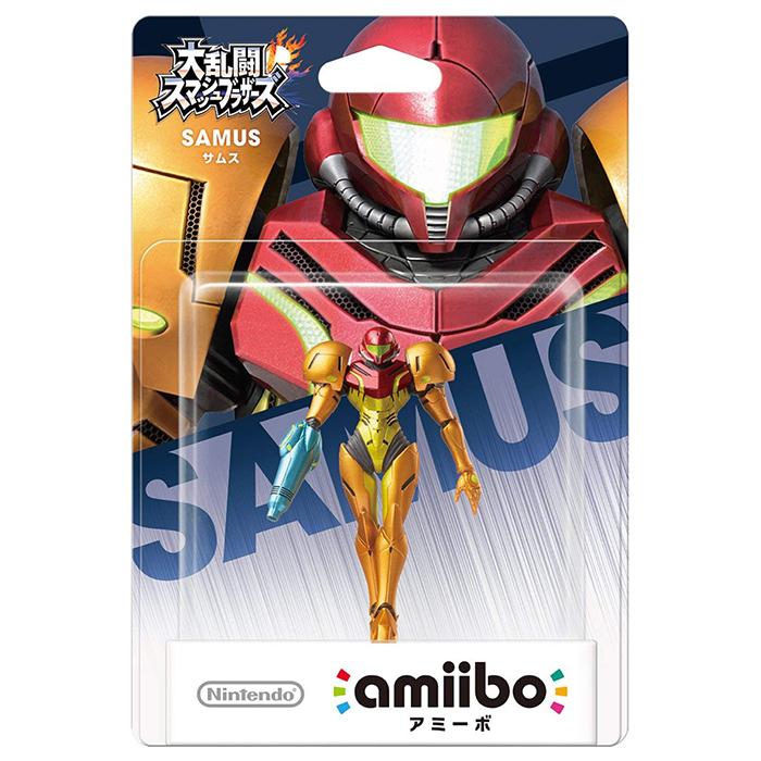 【amiibo】amiibo 銀河戰士 薩姆斯(任天堂明星大亂鬥系列)