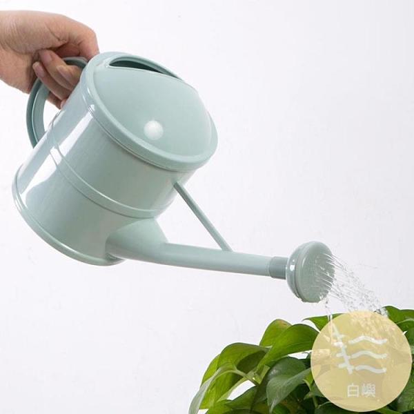 長嘴花灑澆水壺大號塑料家用園藝多肉植物噴水壺澆花灑水壺【白嶼家居】