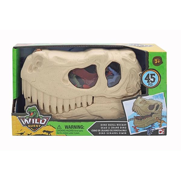 Wild Quest Dino暴龍收納盒(附恐龍模型) 玩具反斗城