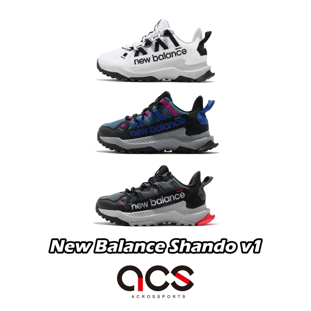 New Balance 野跑鞋 Shando v1 寬楦頭 女鞋 山道 全地形 山系 戶外 健行 NB 任選 【ACS】