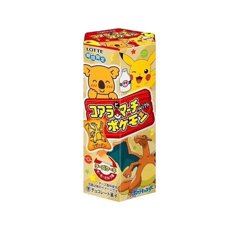 【豆嫂】日本零食 LOTTE小熊餅乾寶可夢限定版 48g (起司蛋糕口味)