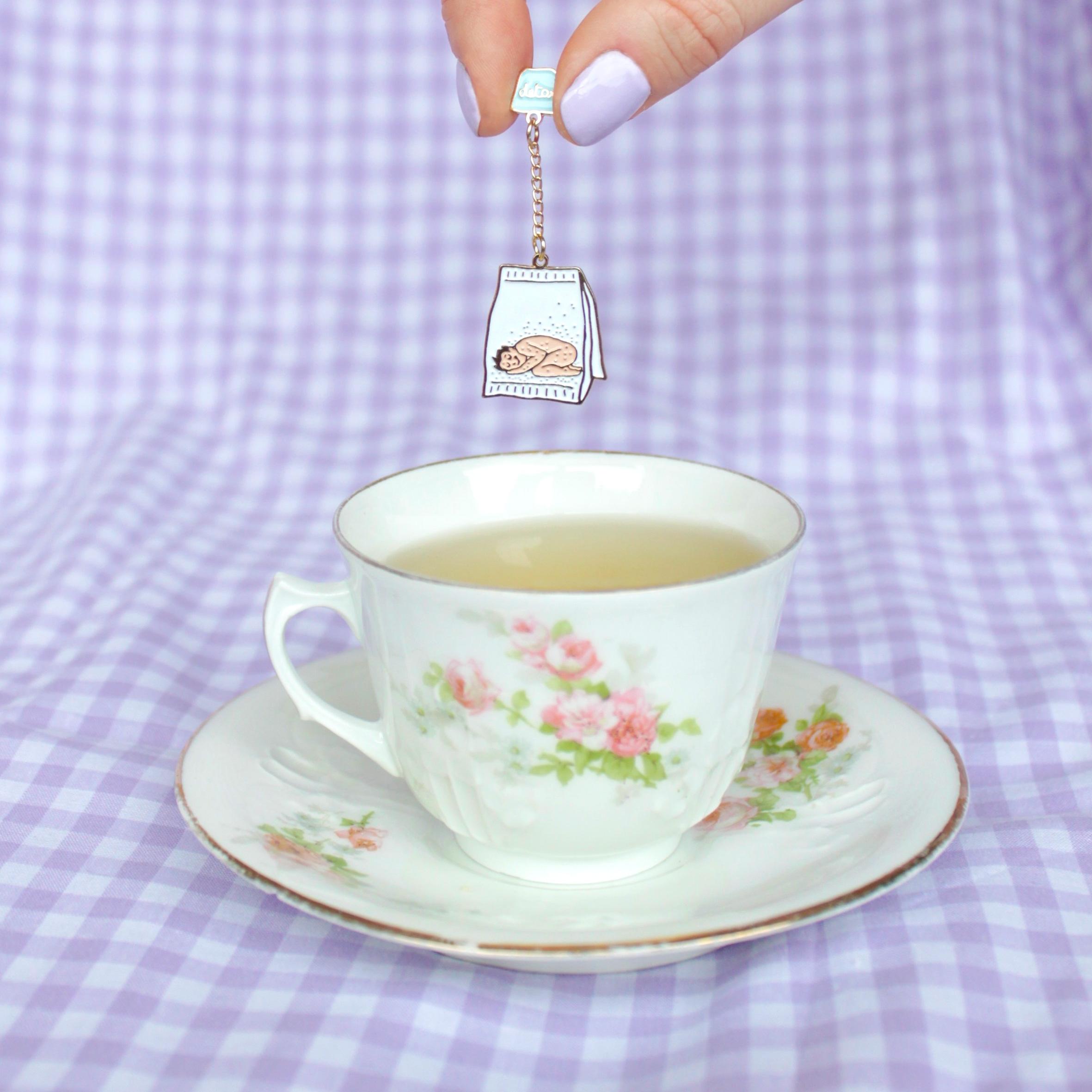 Detox Tea 徽章