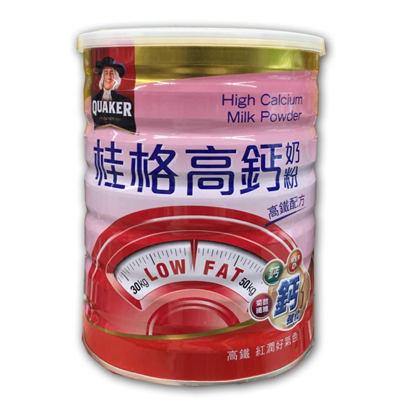 桂格高鐵高鈣零脂750g