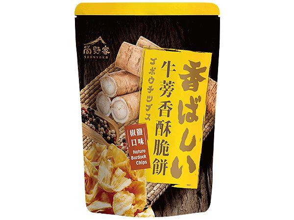 尚野家~牛蒡香酥脆餅(椒鹽口味)80g【DS001177】