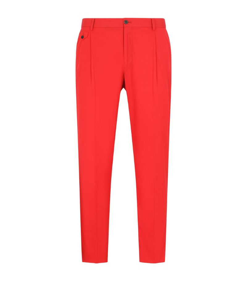 Dolce & Gabbana Cotton Tailored Trousers