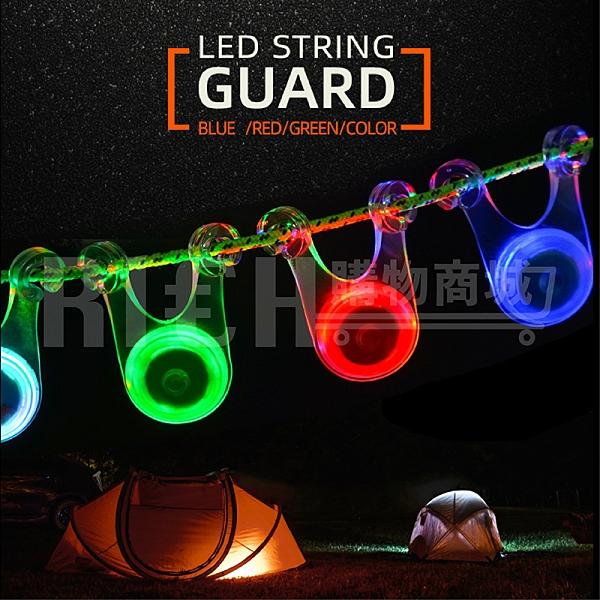 【Selpa】戶外野營裝飾燈 led帳篷繩掛燈 背包自行車警示尾燈 矽膠營地燈 閃燈