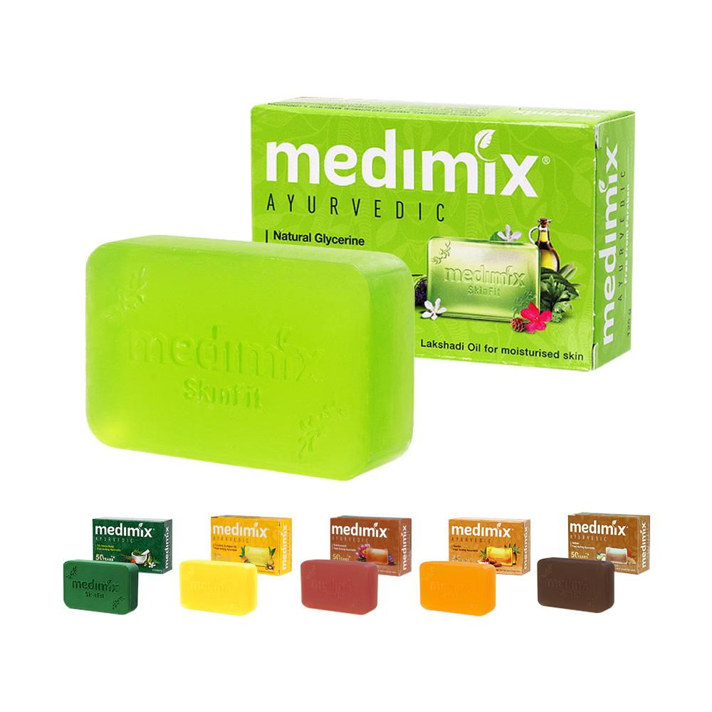 Medimix 綠寶石皇室藥草浴美肌肥皂 草本植物配方 溫和保濕 印度香皂 美肌皂 亮白香皂 美白肥皂 香皂 肥皂 美肌皂 草本皂 印度神皂 美妝保養