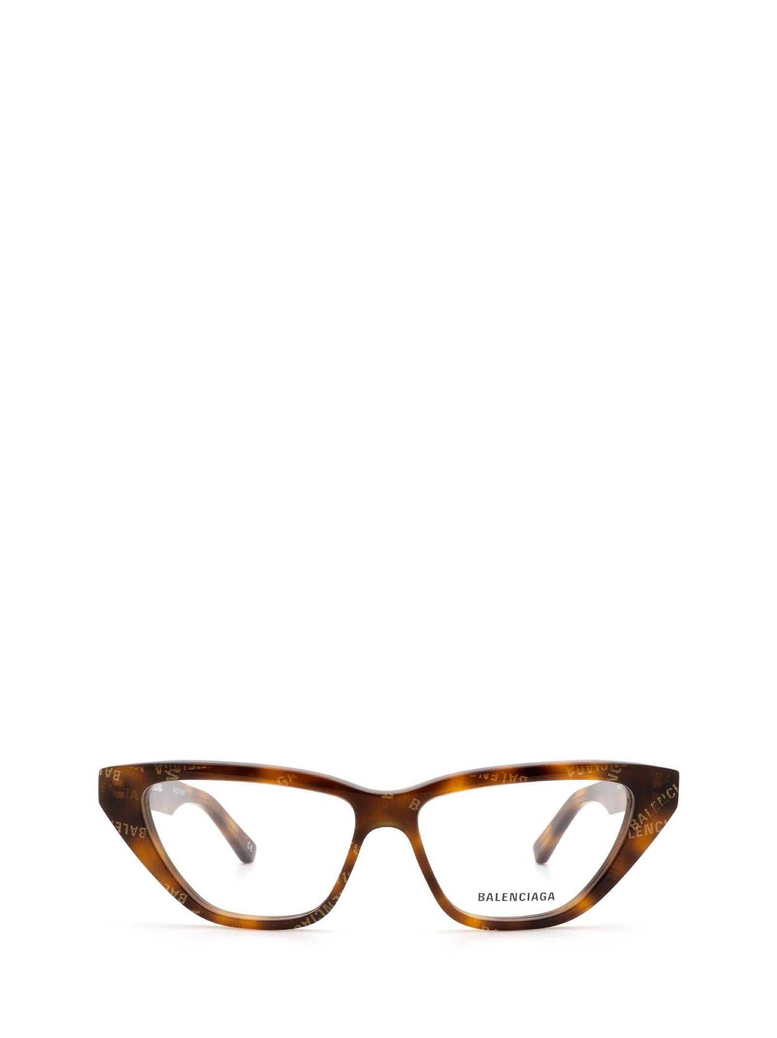 Balenciaga Balenciaga Bb0128o Havana Glasses