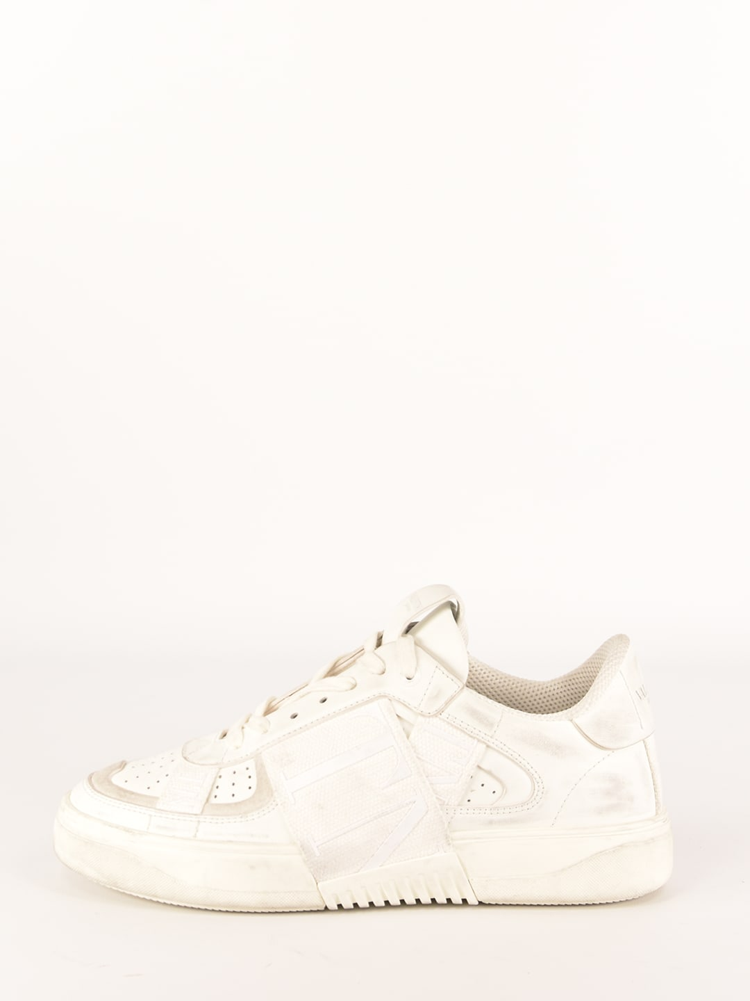 Valentino White Leather Sneakers